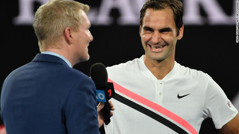 Roger Federer reaches seventh Australian Open final as Hyeon Chung retires