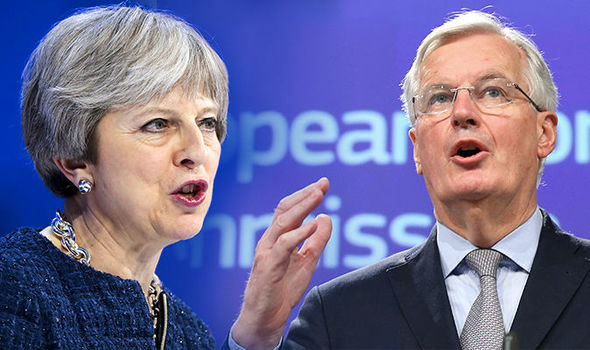 You've got FOUR WEEKS! Brussels issues Brexit trade deadline to Theresa May