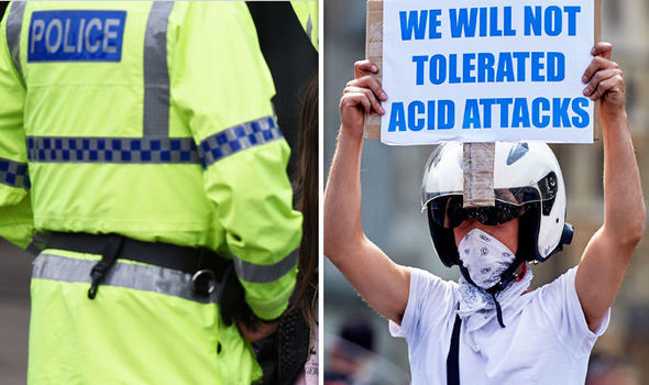 Acid attack epidemic: RECORD number of incidents in London last year, data reveals