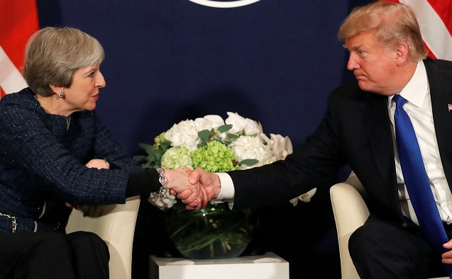Trump says he would negotiate Brexit with tougher attitude than Theresa May