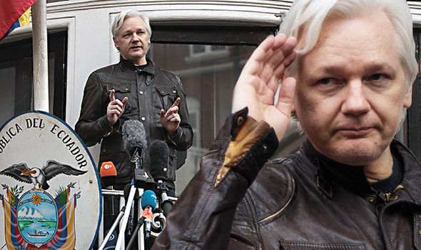 'He's NOT at embassy anymore' Julian Assange mystery deepens over cryptic tweet