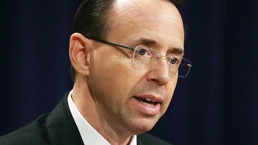 Rosenstein approved surveillance extension of former Trump adviser Carter Page