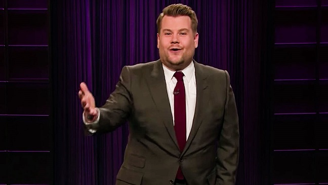 James Corden Fires Back at Critics of Hillary Clintons Grammys Appearance