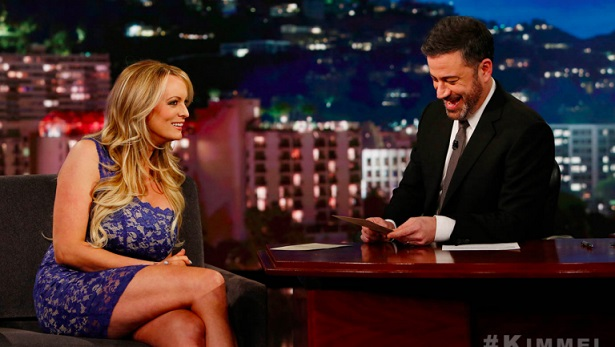 Stormy Daniels Joins Jimmy Kimmel for Post-State of the Union Guest Appearance