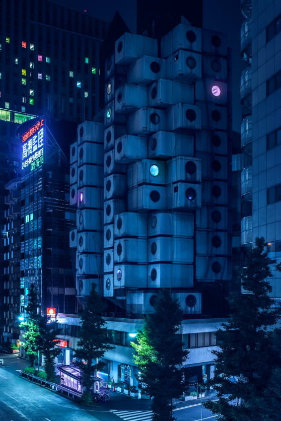 Night photos that make Tokyo look like a sci-fi utopia