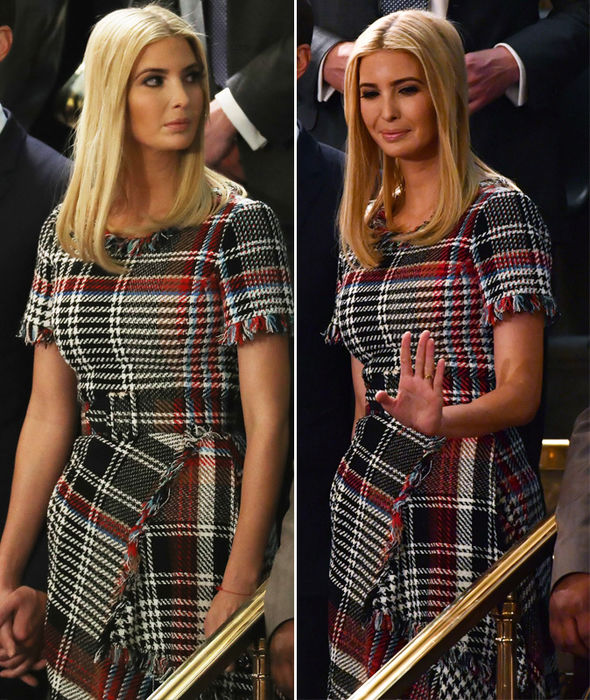 Ivanka Trump wears £2520 tweed dress to State of the Union - it almost SELLS