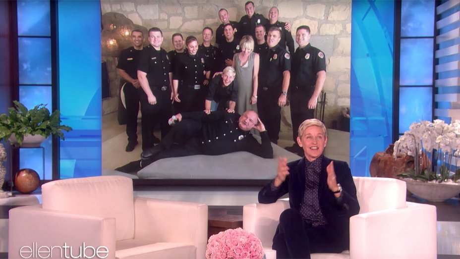 Ellen DeGeneres Thanks California Firefighters After Wildfire Threatened Home