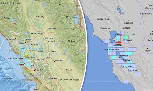 California earthquake: Berkeley and San Jose locals fearing Big One brace for aftershock