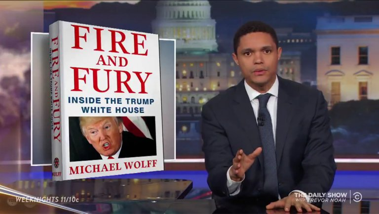Late-Night Hosts Tee Off on Claims in Michael Wolffs Trump Tell-All