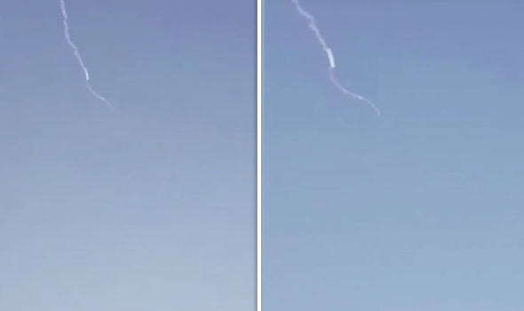 Saudi Arabia blasts missile out of sky as Middle East war fears escalate