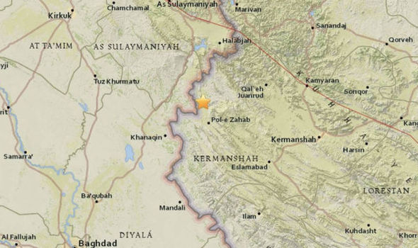 Iran rocked by ANOTHER earthquake measuring 5.1