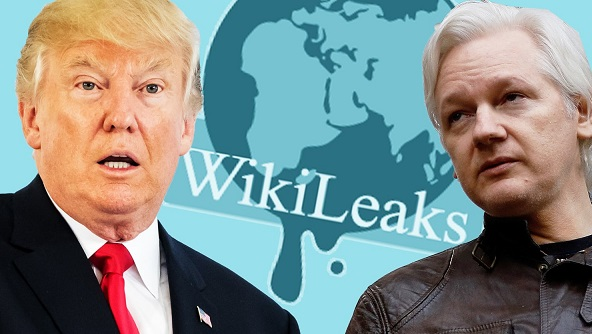 WikiLeaks tweet then deletes link to text of new Trump book