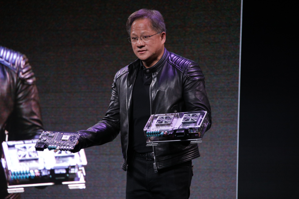 Nvidia reveals new AI platforms for smart assistants and AR in the car