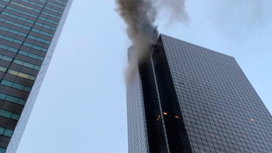 Trump Tower rooftop fire under control, authorities say