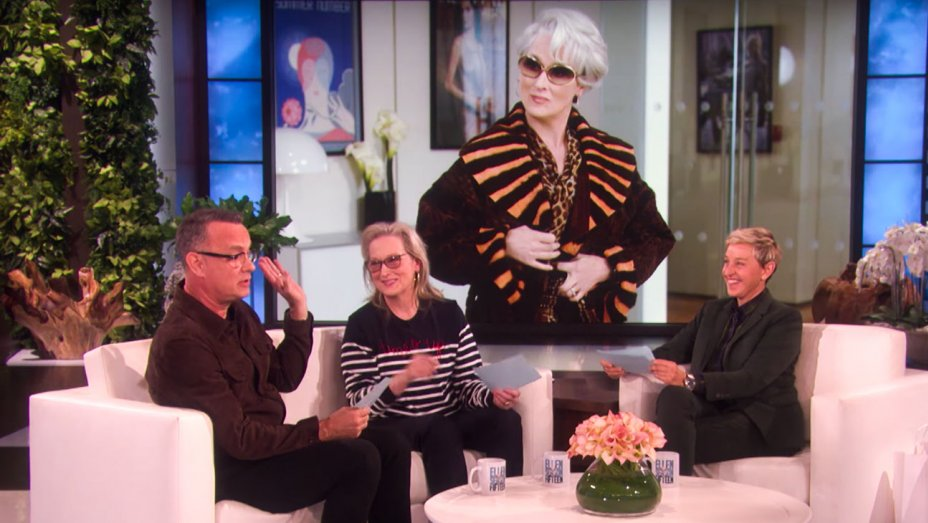 Meryl Streep, Tom Hanks Try to Impersonate Each Others Classic Roles