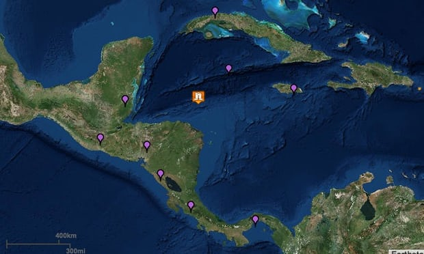 Tsunami alert for Honduras after 7.6-magnitude earthquake in Caribbean