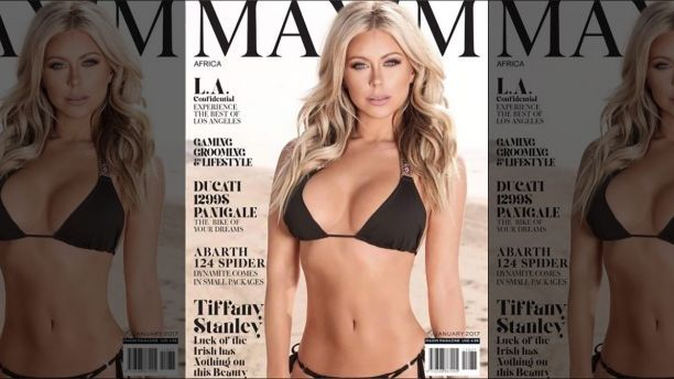 Maxim model Tiffany Stanley talks dealing with sexual harassment from photographers in Hollywood