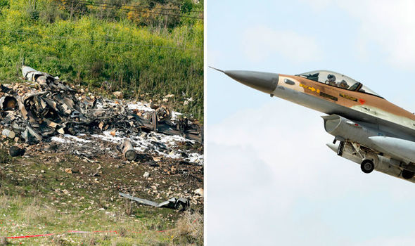 They are LIARS Middle East tensions erupt as Israeli fighter jet attacked by Iran