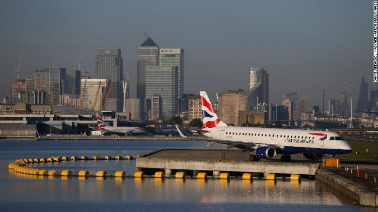 London airport closed after WWII bomb discovered