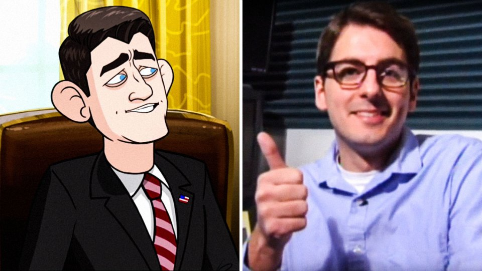Our Cartoon President: Meet the Voices Behind Trump and Co.