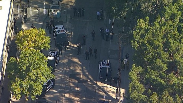 4 students hit by gunfire at Los Angeles school; 12-year-old girl in custody