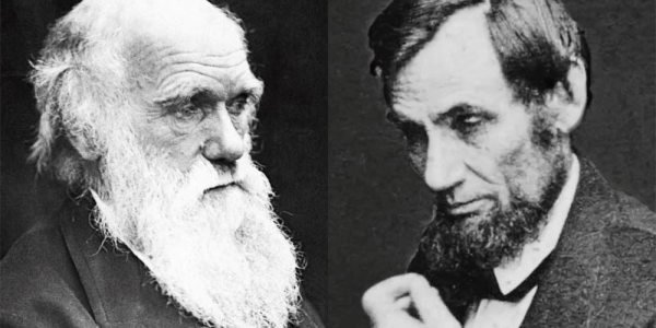 Lincoln, Darwin: Same birthdate, vastly different lives