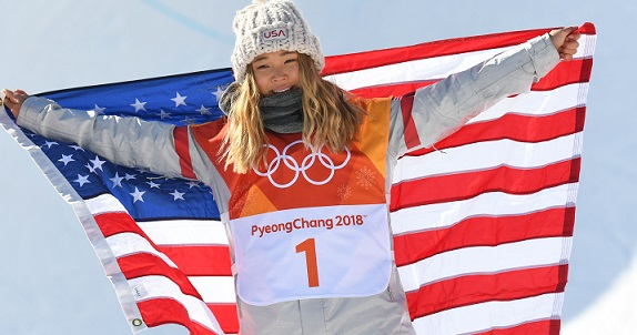 Chloe Kim wins gold in women's snowboard halfpipe at 2018 Winter Olympics
