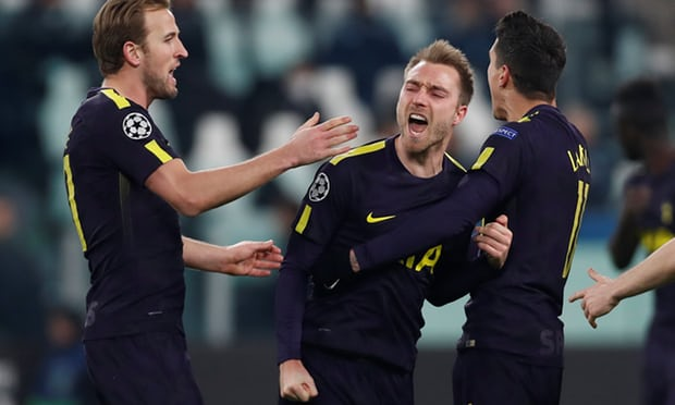Full time in Turin: Juventus 2-2 Tottenham Hotspur
