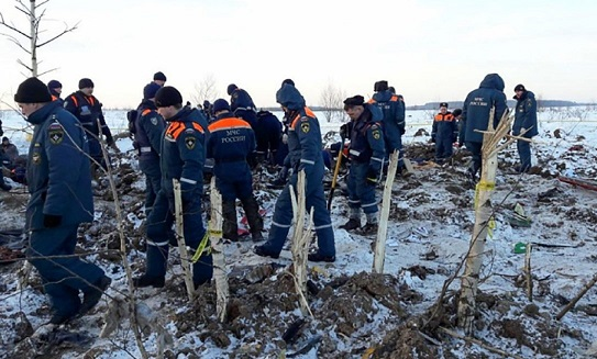 Russian plane crash caused by pilots' error on speed data, investigators say