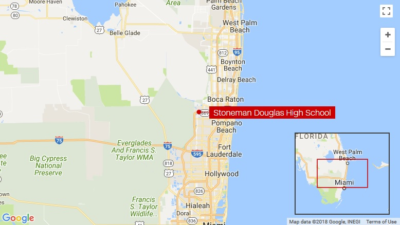 Florida school shooting suspect in custody, police say