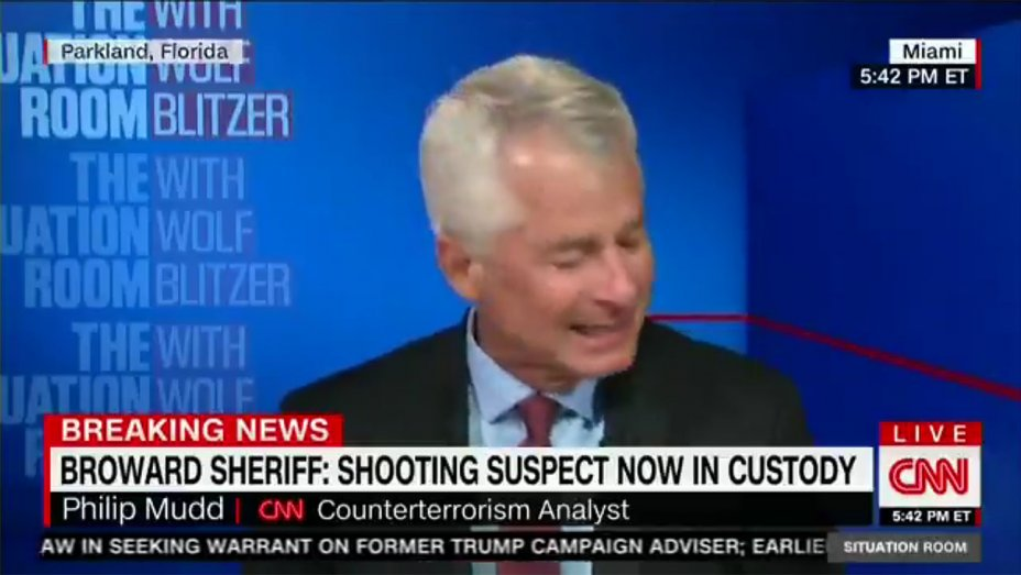 CNN Analyst Tears Up During Live Broadcast of Florida Shooting Coverage