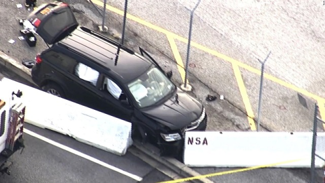 Authorities respond to shooting at NSA facility