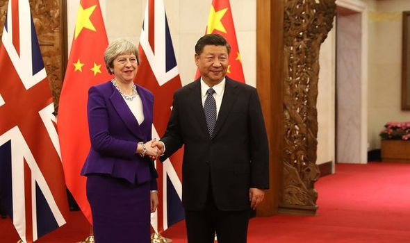 May in China LIVE: Brexit trade boost as its revealed Chinese nickname PM AUNTIE