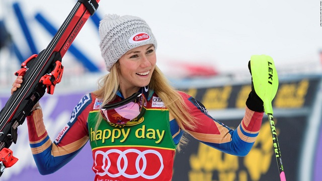 US superstar Mikaela Shiffrin wins giant slalom gold