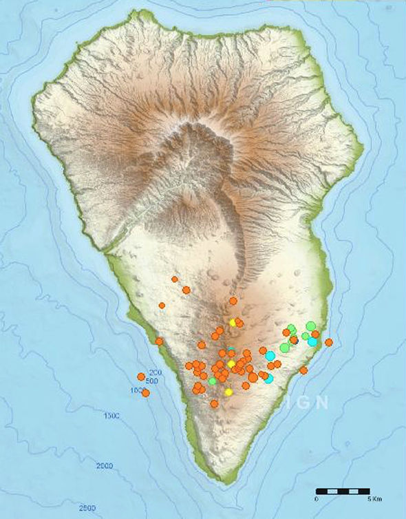 Canary Islands La Palma volcano hit by 70 earthquakes sparking emergency response