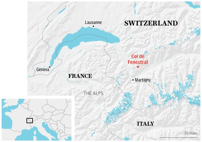 Two hikers missing after Swiss avalanche