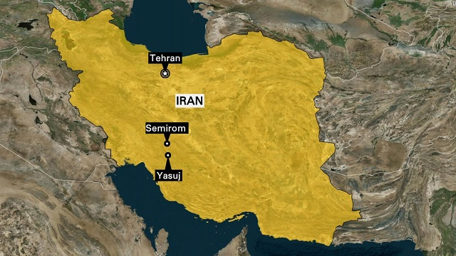 Passenger plane crashes in Iran  with 66 aboard, report says