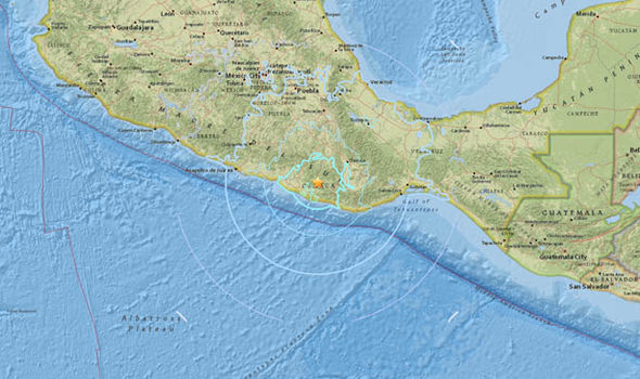 BREAKING: Mexico hit by 6.1 magnitude earthquake - people in streets as quake rocks Oaxaca