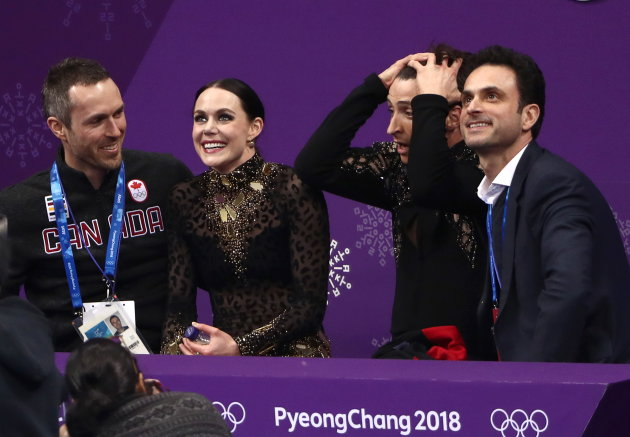 Tessa Virtue And Scott Moir Break Their Own World Record In Ice Dance Short Program