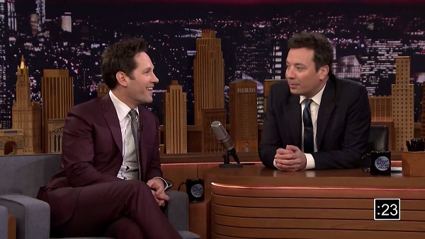 Jimmy Fallon Duets With Paul Rudd in Olympics-Shortened, 5-Minute Version of 'Tonight Show'