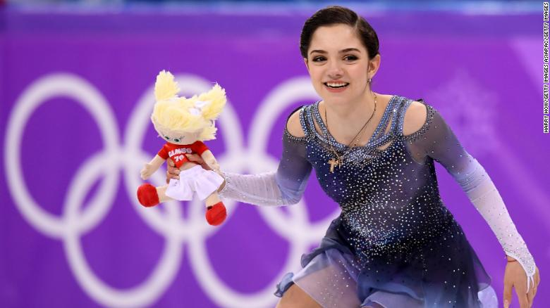 Olympic ice skating: Medvedeva sets world record, then Zagitova breaks it