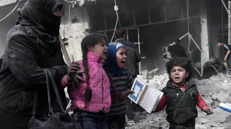 There are no longer any words to describe Syrias horror
