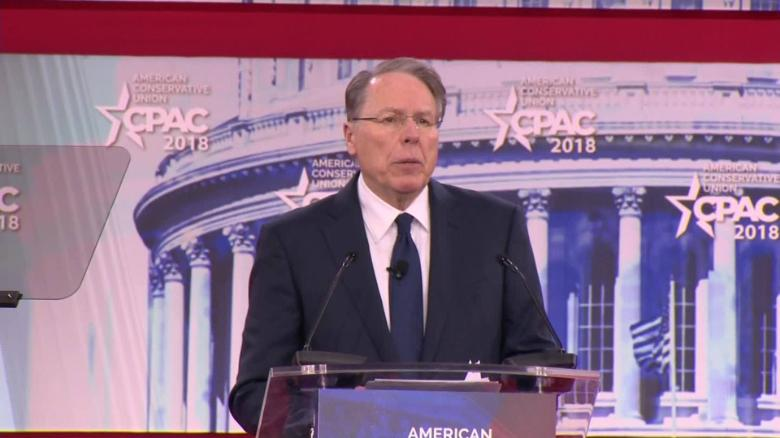 NRA's Wayne LaPierre says gun control advocates 'hate individual freedom'