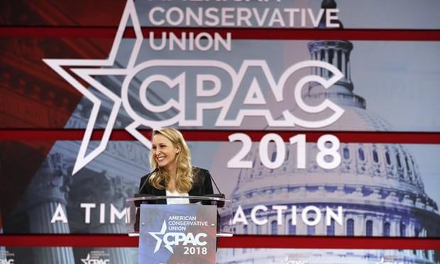 France is no longer free: Marine Le Pens niece brings French far right to CPAC