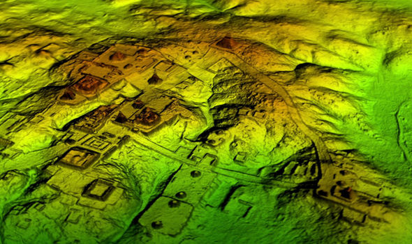 Mystery SOLVED: Lasers uncover Maya mega city lost for 1,500 years