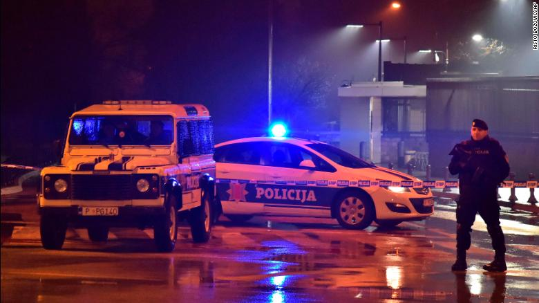Man dies after throwing device at US embassy in Montenegro