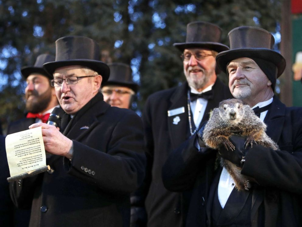 Groundhog Day 2018: Punxsutawney Phil sees his shadow, 6 more weeks of winter