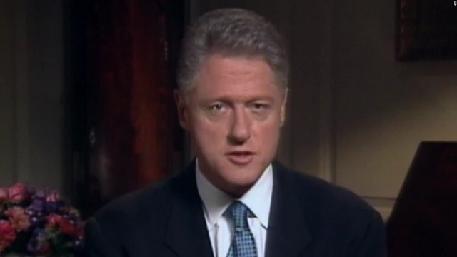 Lewinsky sees problematic issue of consent in Clinton affair