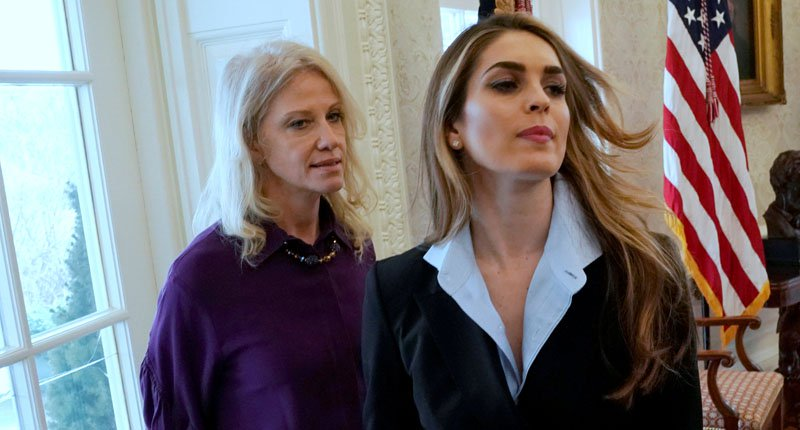 Close Trump aide Hope Hicks testifies in House Intelligence Committee regarding Russia probe
