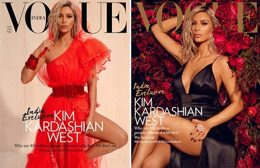 Kim Kardashian Wests Vogue India Cover Sparks Debate About Representation